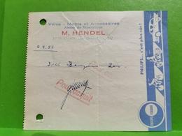 M. Hendel, Ettelbruck. 1955 - Luxembourg