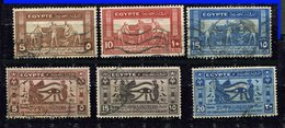 Egypte Ob N° 141/143 - 199/201 - Used Stamps