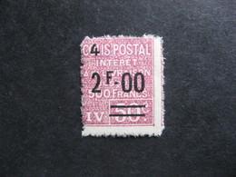TB Timbre Colis Postaux N° 75, Neuf X. - Colis Postaux