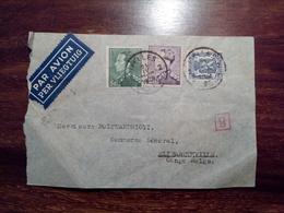 1939 BELGIUM / BELGIQUE To ELISABETHVILLE CONGO BELGE Airmail PAR AVION Cover Envelope Enveloppe Lettre - Belgien