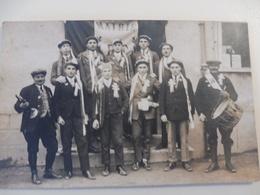 18 - CHER - QUINCY - Conscrits 1927 - Carte Photo - France