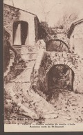 C. P. - VENCE - CHEMIN MULETIER DU MOULIN A HUILE - ANCIENNE ROUTE DE ST JEANNET - 5 - REPR. DU TABLEAU DE J. DE BONS - - Vence
