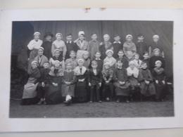 18 - CHER - QUINCY - Fête De L'école 1943-1944 - Carte Photo - Otros Municipios