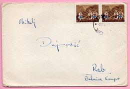 Letter - Postmark Zagreb, 9.6.1960. / Rab, 10.6.1960., Yugoslavia - Unclassified