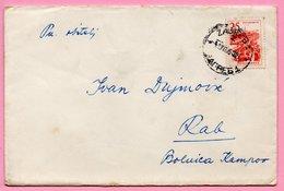 Letter - Postmark Zagreb, 1.7.1964. / Rab, 3.7.1964., Yugoslavia - Unclassified