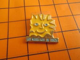 1919 Pin's Pins / Beau Et Rare / Thème ASSOCIATIONS / SOLEIL SOURIANT LES MARRAINES DE GORZE ? - Verenigingen