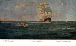 Th. Somerscales - Off Valparaiso  VELERO Segelschiff - Voiliers