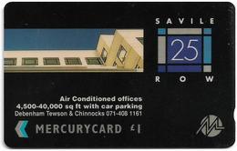 UK (Mercury) - Debenham Tewson & Chinnoks - 20MERB - MER265 - 2.683ex, Used - [ 4] Mercury Communications & Paytelco