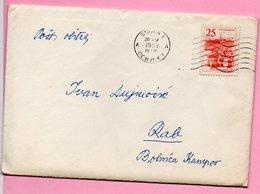 Letter - Postmark Osijek, 30.5.1963. / Rab, 31.5.1963., Yugoslavia - Unclassified