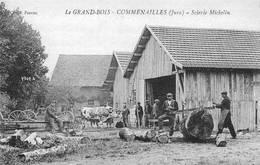 Le Grand Bois Entre Commenailles Et Chapelle Voland Réédition Scierie Michelin Scieurs - Autres Communes