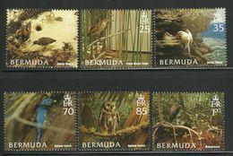 BERMUDA  2005  BIRDS,HABITATS   SET  MNH - Birds