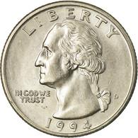 Monnaie, États-Unis, Washington Quarter, Quarter, 1994, U.S. Mint, Denver - Emissioni Federali