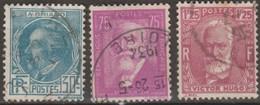 Francia 1933 YvN°291-293 3v (o) - France