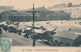LILLE AT 68 Le Marché Des Halles Centrales Bon Etat - Lille
