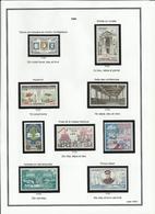 Monaco N° 523 524 525 526 à 531 Neufs Sans Charnière  - Année 1960 - Monaco