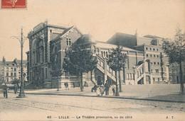 LILLE AT 48 Le Theatre Provisoire Vu De Coté TBE - Lille