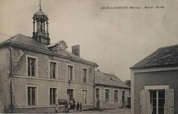 51 - ARCIS LE PONSART -  Mairie - Ecoles - 5103 F - France