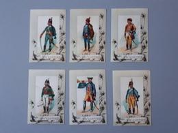 Cartes Des Uniformes De Hussards Ancien Régime 1724 à 1786  & - Documents