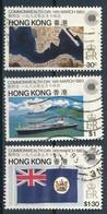°°° HONG KONG - Y&T N°405/7 - 1983 °°° - 1997-... Speciale Bestuurlijke Regio Van China
