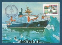 "RSA 1986 , "" PFS Polarstern "" - Maximum Card - Stempel FS ""Polarstern"" Kaapstad 18.III.88 - Sud Africa (1961-...)"