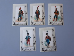 Cartes Des Uniformes De Hussards Premier Empire 1791 - 1812  & - Documents