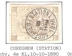 REF150/ CF 6 C.Cureghem (Station) 20/NOV/11-M/1886 Aminci-dun Léger-licht - Chemins De Fer