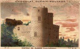 Chromo  Chocolat Guerin Boutron Chateau De Clisson - Guerin Boutron
