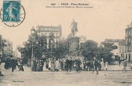 LILLE DELSART 6427 Place Richebé Léger Manque De Matiere Coin Haut à Gauche - Lille