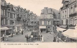 VILLERS SUR MER - Place Du Bourg - Diligence - Villers Sur Mer