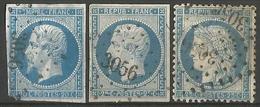 FRANCE - Oblitération Petits Chiffres LP 3056 St-FARGEAU (Yonne) - Marcofilie (losse Zegels)