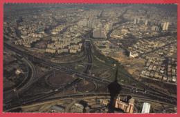 CP-Iran - TÉHÉRAN - Photo D'Art * Borj-e Milad * Aerial View *SUP * 2 SCANS - Iran
