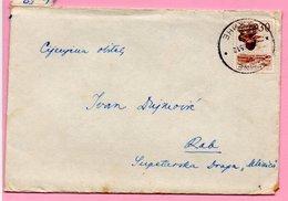 Letter - Postmark Fužine, 7.8.1965., Yugoslavia - Unclassified