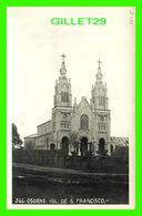 OSORNO, CHILI - IGL. DE S. FRANCISCO  - WRITTEN IN 1928 - FOTO, J. WIEDERHOLD - - Chile