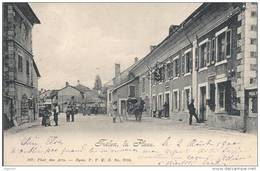 0112 - Trélex La Place Très Animée Attelage - VD Vaud