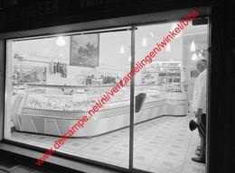 Merksem - Slagerij Van Mechelen Van Hassel In 1963 - Photo 15x23cm - Antwerpen Bredabaan - Lieux
