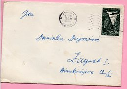 Letter - Postmark Osijek, 6.9.1963., Yugoslavia - Unclassified