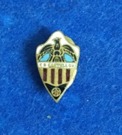 ANTIQUE LAPEL PIN / BADGE SOCCER / CALCIO SPAIN CLUB DEPORTIVO CASTELLON - Fútbol