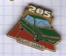 PINS AUTOMOBILE PEUGEOT 205 01 - Peugeot