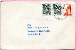 Letter - Postmark Rab, 1962., Yugoslavia - Unclassified
