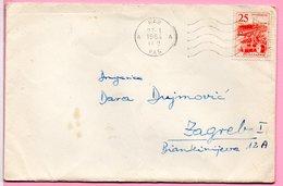 Letter - Postmark Rab, 27.1.1964., Yugoslavia - Unclassified