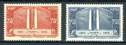 France   Y&T    316 - 317    XX    ---     MNH   --   Impeccable... - France