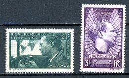France   Y&T    337 - 338    XX    ---     MNH   ---   TTB - France