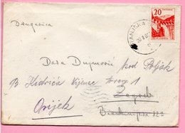 Letter - Postmark Kranjska Gora, 20.2.1961., Yugoslavia - Unclassified