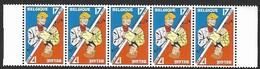 OCB Nr 2785 X5  Chick Bill Rik Ringers / Ric Hochet Tibet  Strip BD Comic Cartoon MNH - Neufs