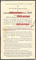 Oorlog Guerre Lt Albert Graff Merchtem Rijkswacht Gendarmerie VERZETSMAN Gesneuveld Te Braunsweiler 1943 - Images Religieuses