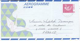 JAPON,aerogramme( NDK/024) - Interi Postali