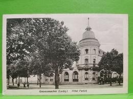 Grevenmacher, Hôtel Fedick. P. Houstraas - Cartes Postales