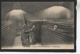 REIMS - Travail Du Vin De Champagne - L'électrisage - Reims