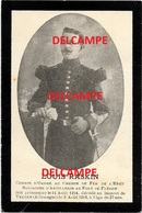 Oorlog Guerre Louis Raskin Stavelot Soldaat Artillerie Au Fort De Fleron Gesneuveld Te Verden AUG 1916 BRIGADIER - Andachtsbilder