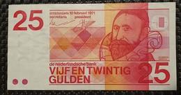 Netherlands 25 Gulden 1971 - [2] 1815-… : Reino De Países Bajos